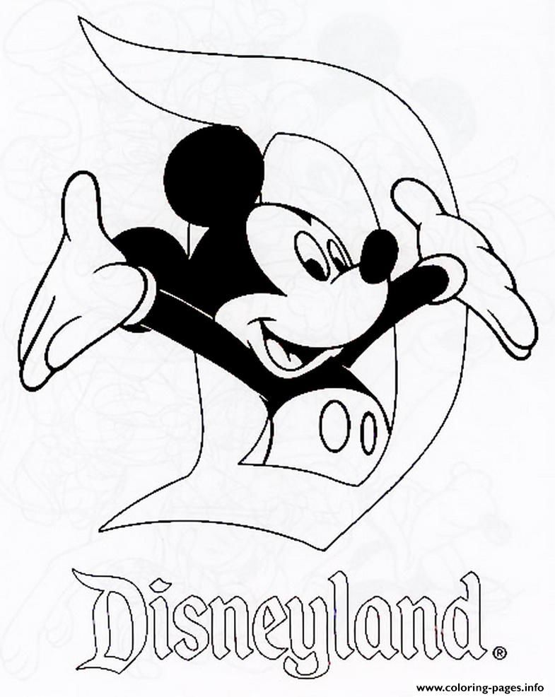 Print Mickey In Disneyland Disney 120e8 Coloring Pages Disney Coloring Pages Printables Disney Coloring Pages Coloring Pages