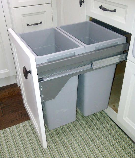 Recycle bin Home Renovations Pinterest Kitchens