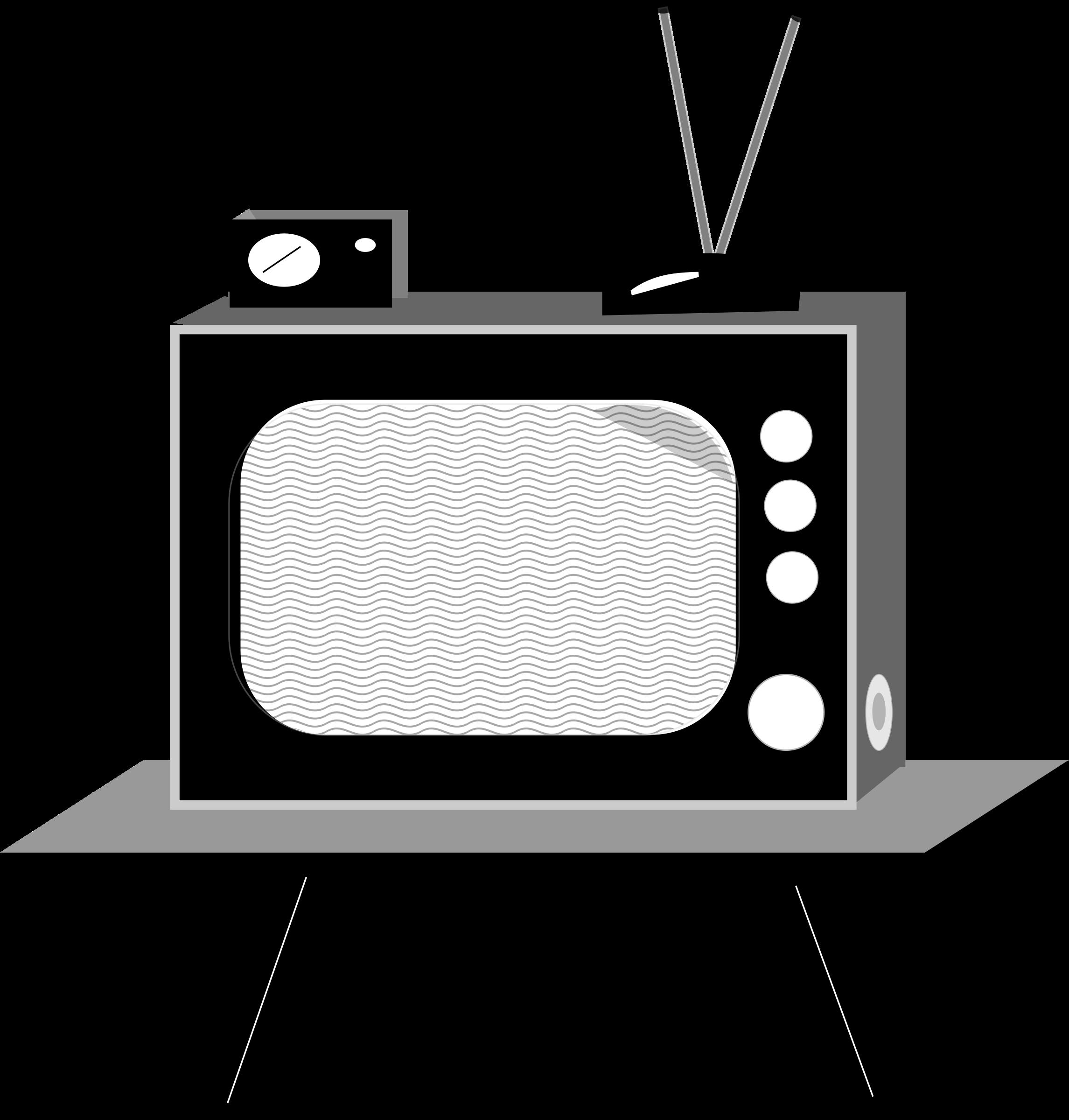 Tv Vintage By Dinhochiz Vintage Tv Clip Art Vintage