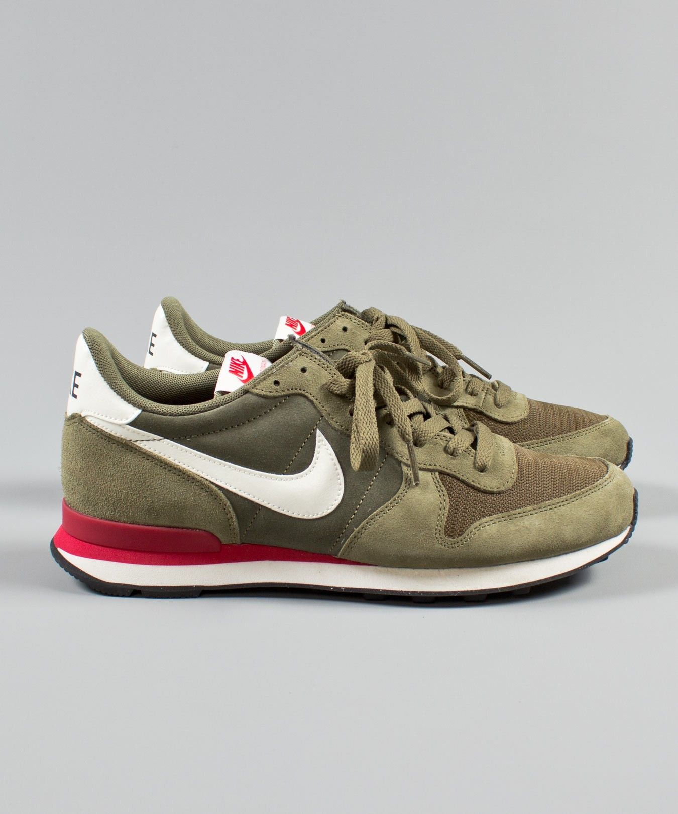 hot sale online 14130 277ab new zealand nike internationalist green red 7ef47 d197b