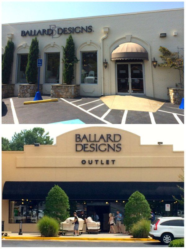 Ballard Designs Maintains Two Discount Locations Here Atlanta Portion The Ground Floor Corporate