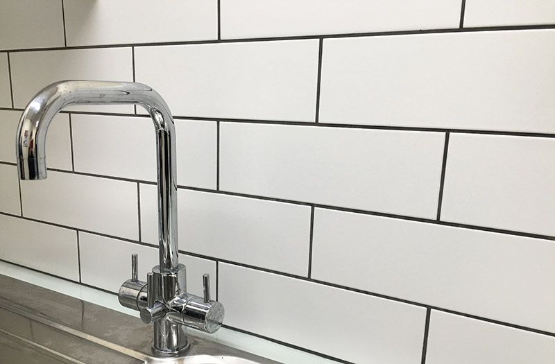 Sentry Matt White White Ceramic Tiles Kitchen Tiles Gorgeous Kitchen Tile