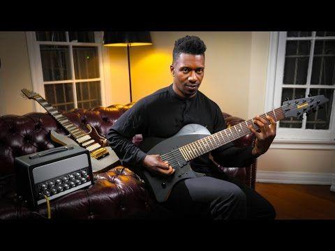 Tosin Abasi Quot Mind Spun Quot Bias Head Amplifier 4k Youtube Tosin Abasi Amplifier Guitar Player