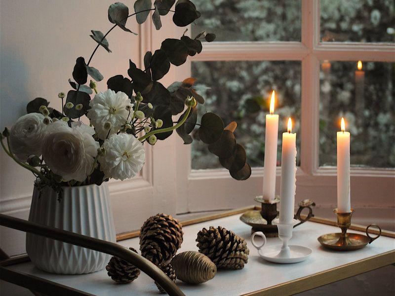bloomingville weihnachtsdeko aus filz in grau 2er set x mas pinterest weihnachten diy. Black Bedroom Furniture Sets. Home Design Ideas