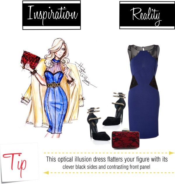 """Flatter Your Figure: Spark A Fire In An Illusion Dress"" by latoyacl on Polyvore"