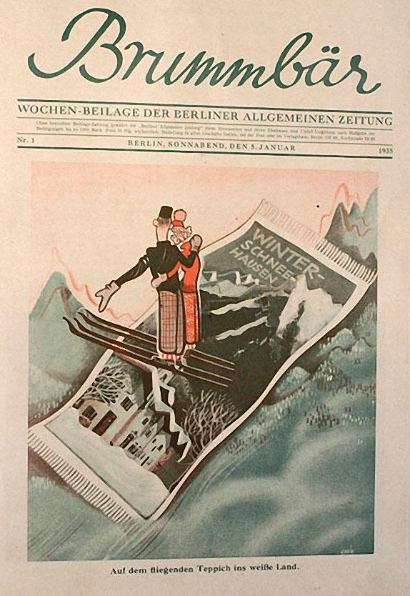Cover Brumbär, 05 Januar 1935.