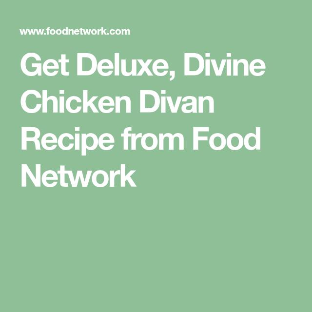 Get Deluxe Divine Chicken Divan Recipe From Food Network