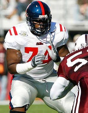 Michael oher in college