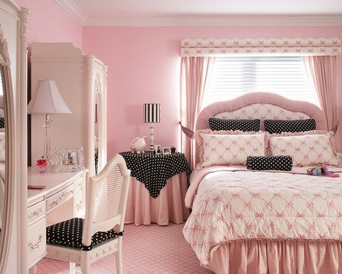15 exquisite french bedroom designs - Pink Bedroom Set