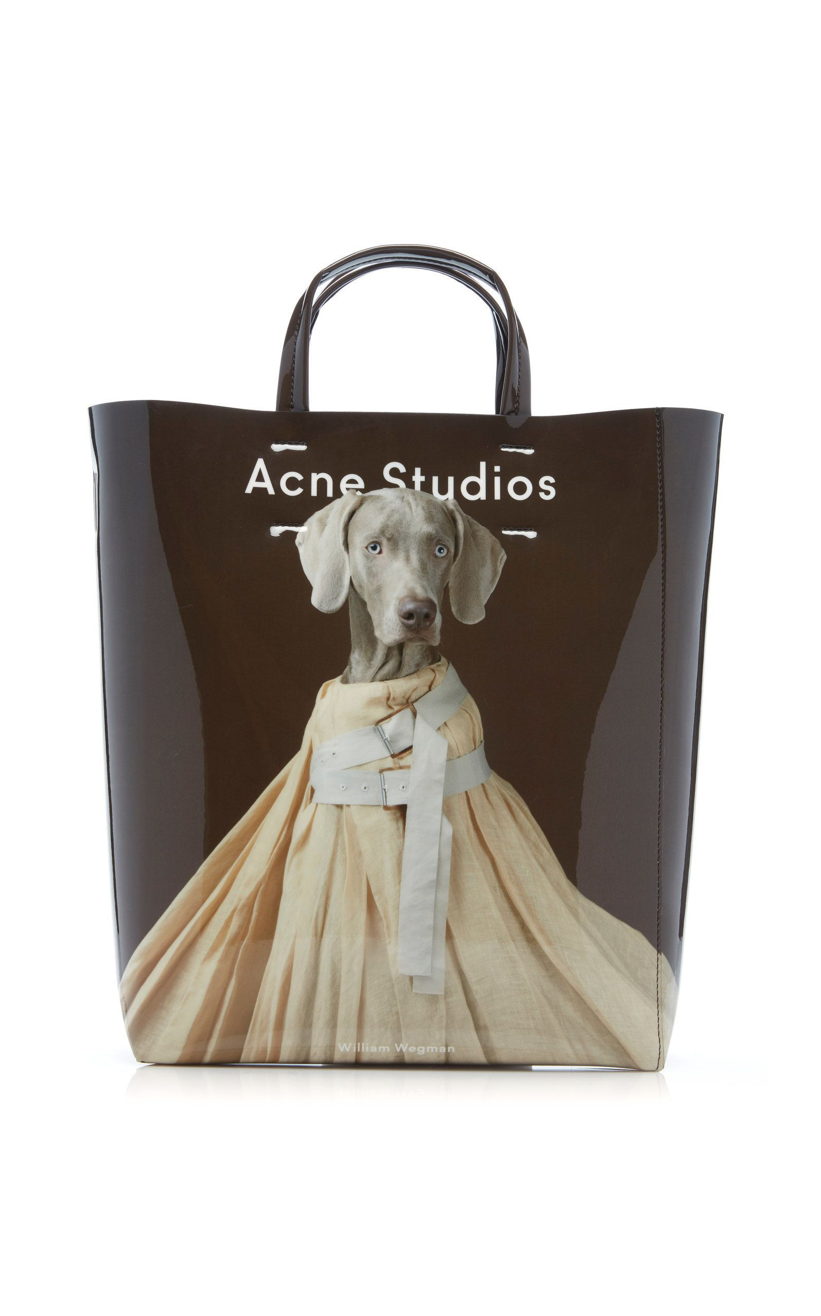 Baker Printed Vinyl Tote Bag By Acne Studios Now Available On Moda Operandi Stylish Leather Bags Womens Designer Bags Acne Studios
