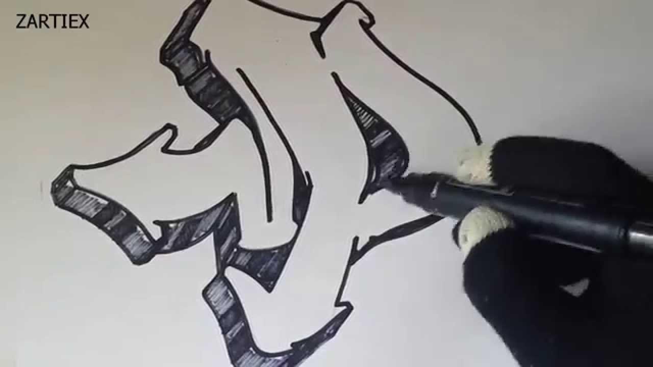 Como Hacer Letras 3d De Graffitis Faciles Dibujar Letras Graffiti