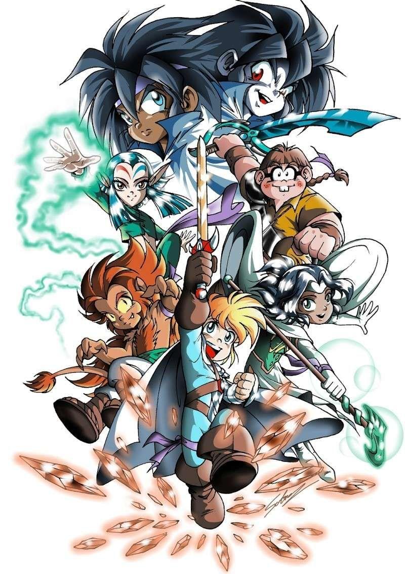 Image bd l gendaires bd les l gendaires comics mangas bande dessin e shameleon - Coloriage des legendaires ...