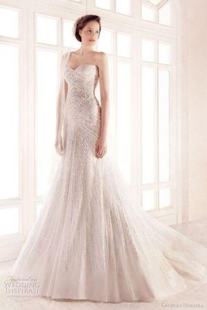 Beautiful lace wedding dress by Gmomma