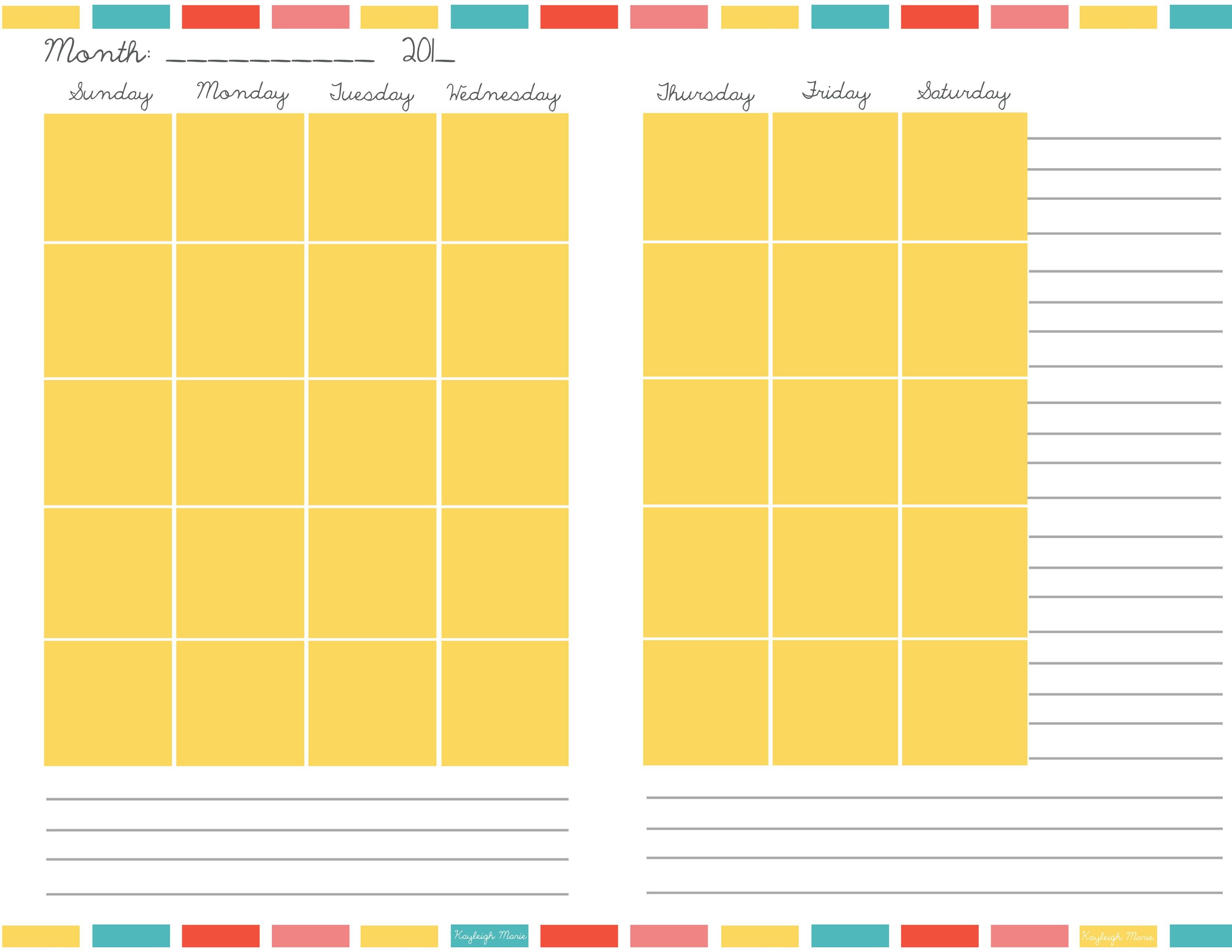 Free Printable Planners | Planners, Free printable planner and ...