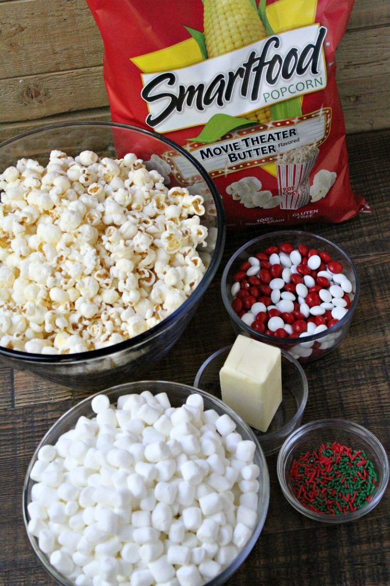 Holiday Marshmallow Popcorn Cake Recipe Popcorn Cake Marshmallow Popcorn Cake Recipes