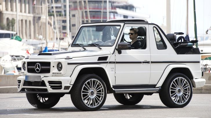 Mercedes G Class Cabriolet Goes Out Of Production Photo Gallery