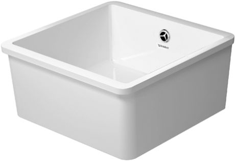 Vero Undercounter kitchen sink Vero 50 with overflow, without tap ...