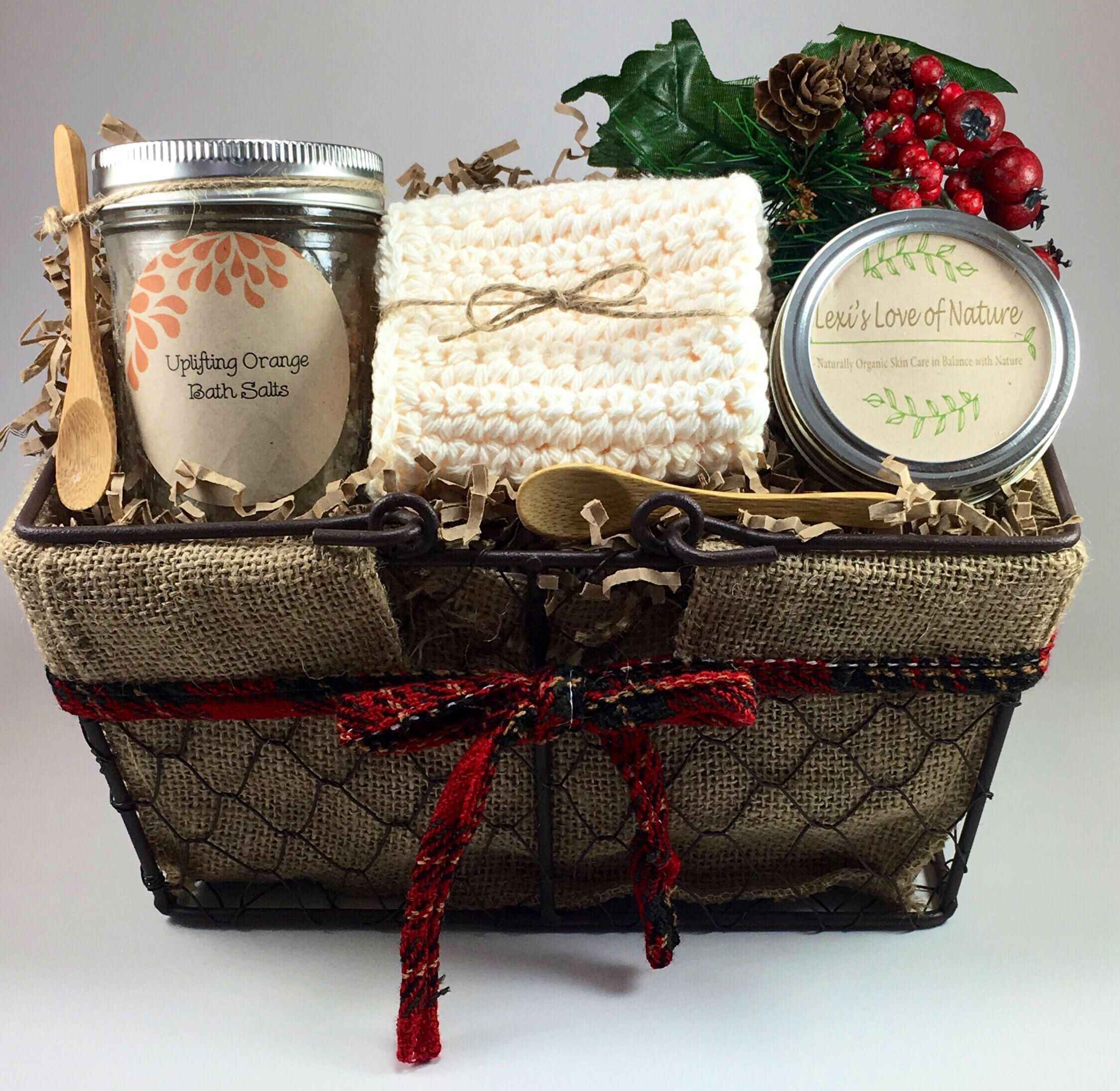Holiday Gift Baskets, Coworker Gift, Hostess Gift, Relaxation Gift ...