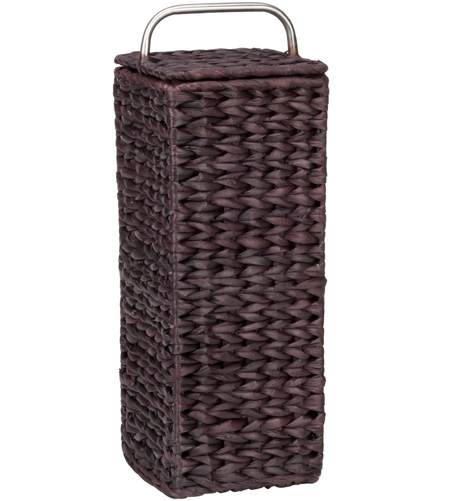 The Wicker Toilet Paper Holder Gives You A Simple Way To Store And Organize  Spare Rolls Of Toilet Tissue Right By The Toilet.