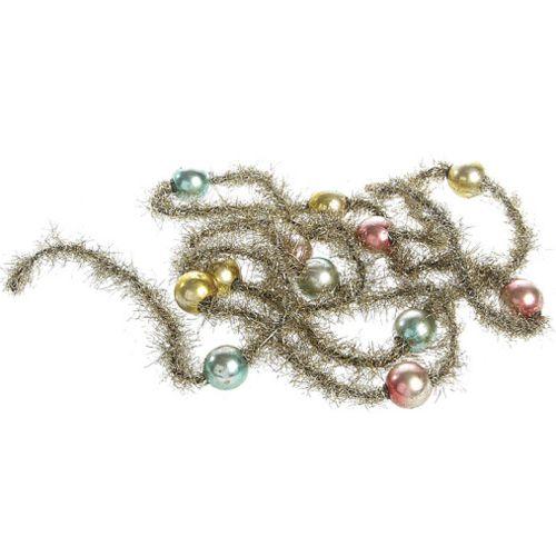 Tinsel Strands Christmas Tree