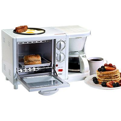 Elite Cuisine 3 In 1 Breakfast Station Haha Everything That You
