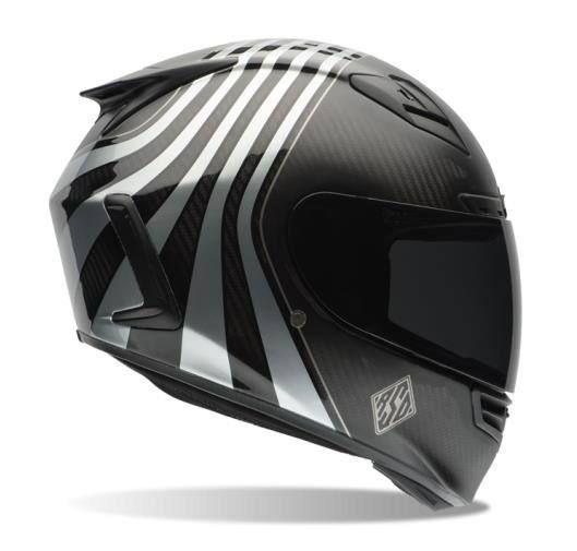 Star Carbon Rsd Technique Helmet Casque Bell Casque Casque Moto Integral