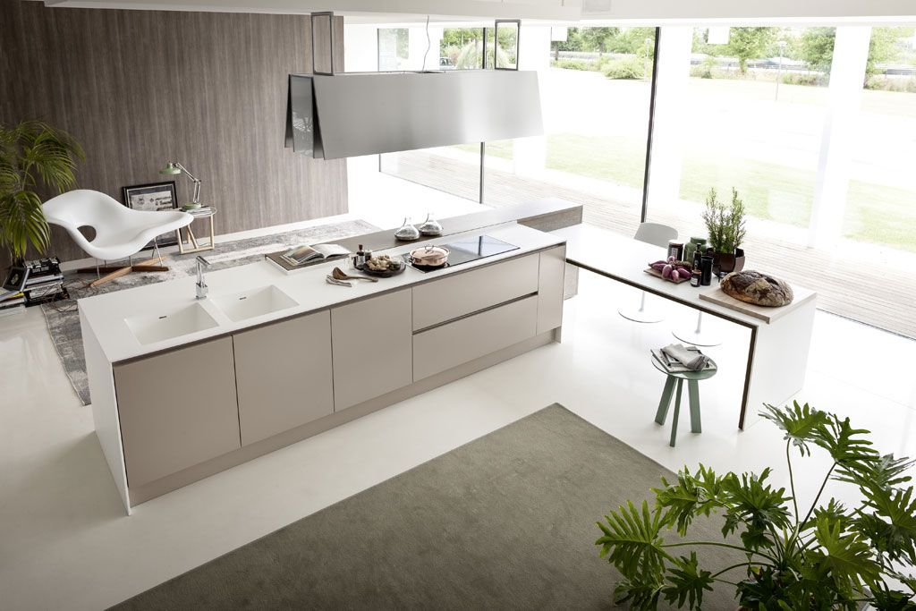Integra Line Contemporary Traditional Italian Kitchen To A Modern