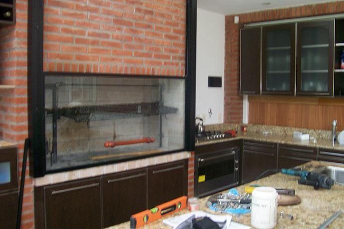 Quinchos y parrillas cerrados quincho pinterest kitchens for Decoracion jardin barbacoa