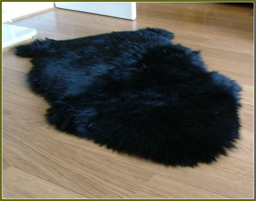 Black Sheepskin Rug Ikea Sheepskin Rug Faux Fur Area Rug Faux Fur Rug