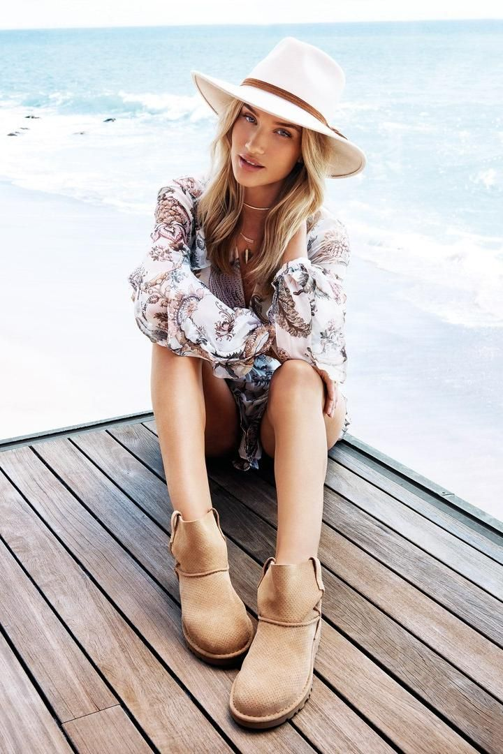 Rosie Huntington Whiteley In UGG's Spring Campaign As The