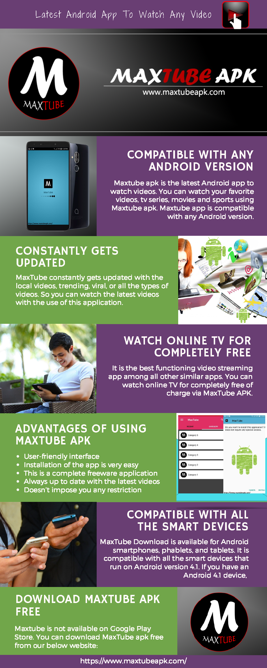 Pin by MaxTube APK on MaxTube APK in 2019 | Android, App, Watches online