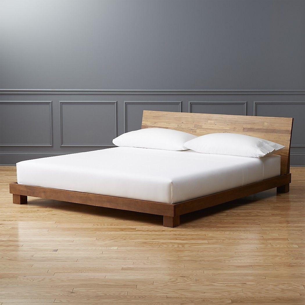 Dondra Teak King Bed + Reviews King beds, Bedroom