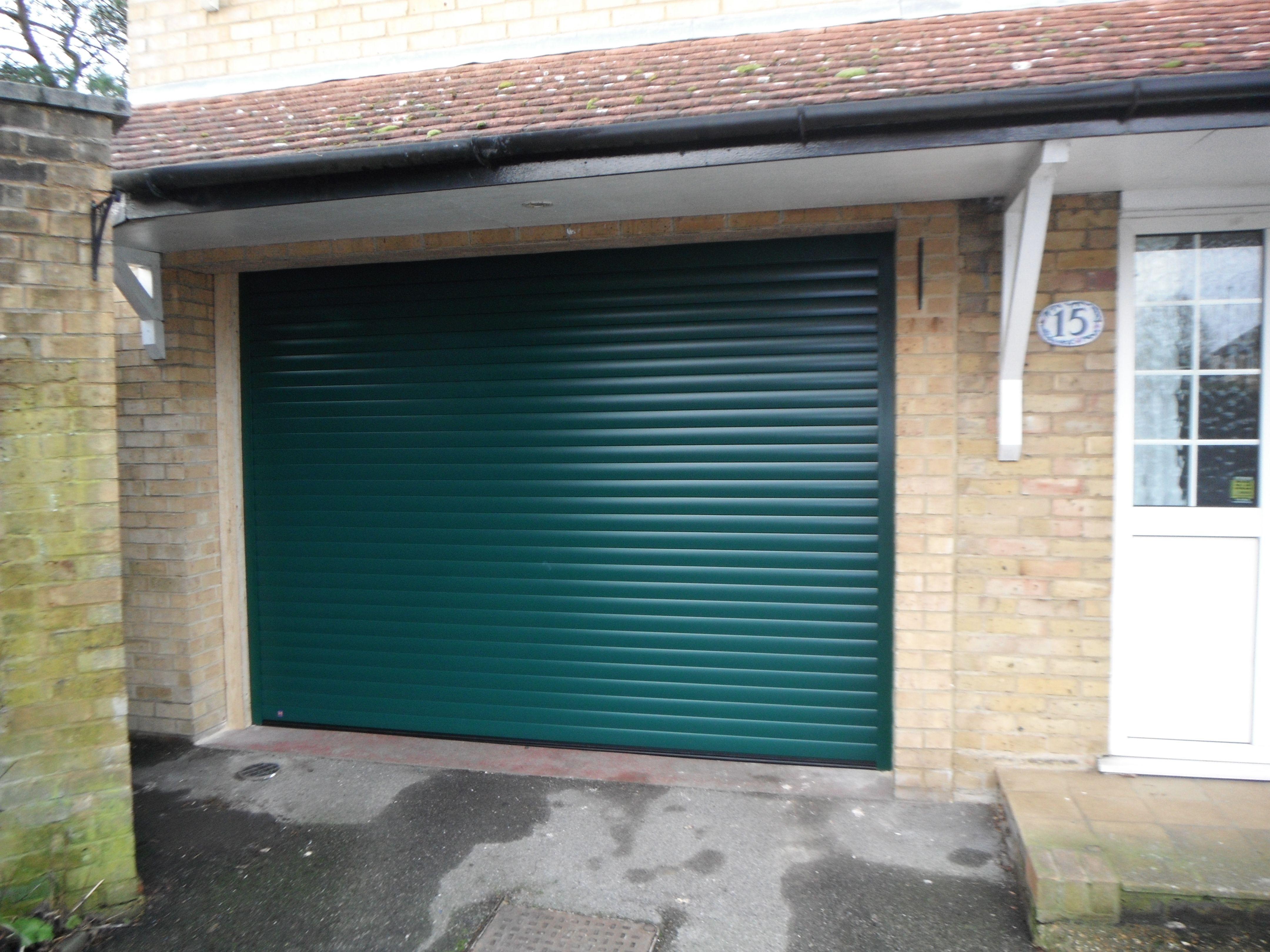 Hormann rollmatic garage door in moss green finish hormann hormann rollmatic garage door in moss green finish rubansaba