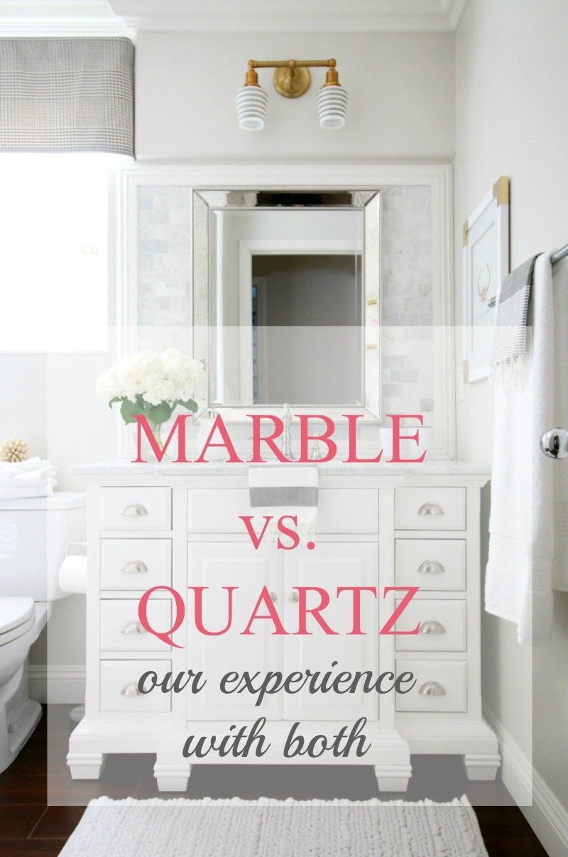 Marble Vs Quartz A Thoughtful Place Marbles Places And Water