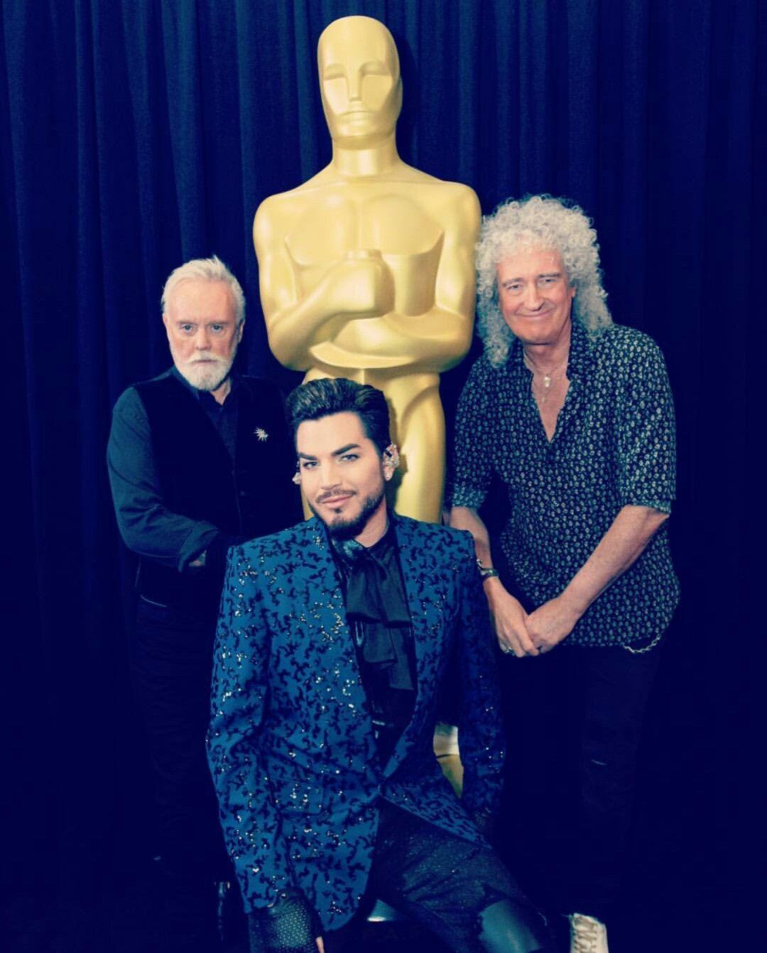 Queen Adam Lambert Oscar Awards 2019 Opening Adam Lambert Queen With Adam Lambert Queen Adam Lambert Tour