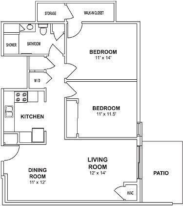 700 sq ft house plans google search small house plans - 2 bedroom apartments in las vegas under 700 ...