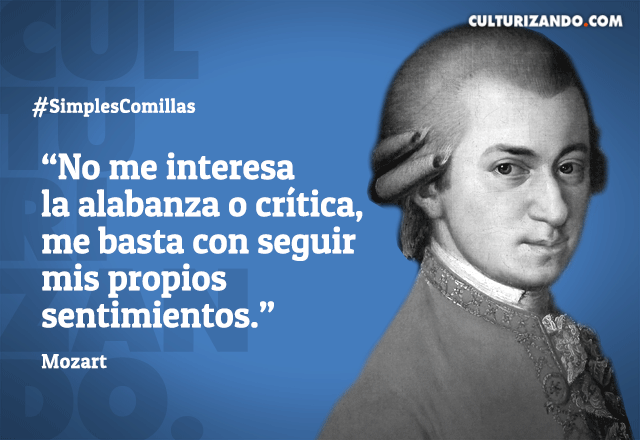 Wolfgang Amadeus Mozart En 12 Datos Culturizandocom