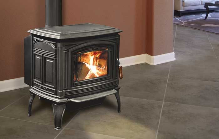 Enviro Boston 1700 Cast Iron Freestanding Wood Stove Fireplaces