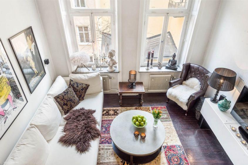 Come arredare un soggiorno quadrato: i consigli per distribuire gli ...