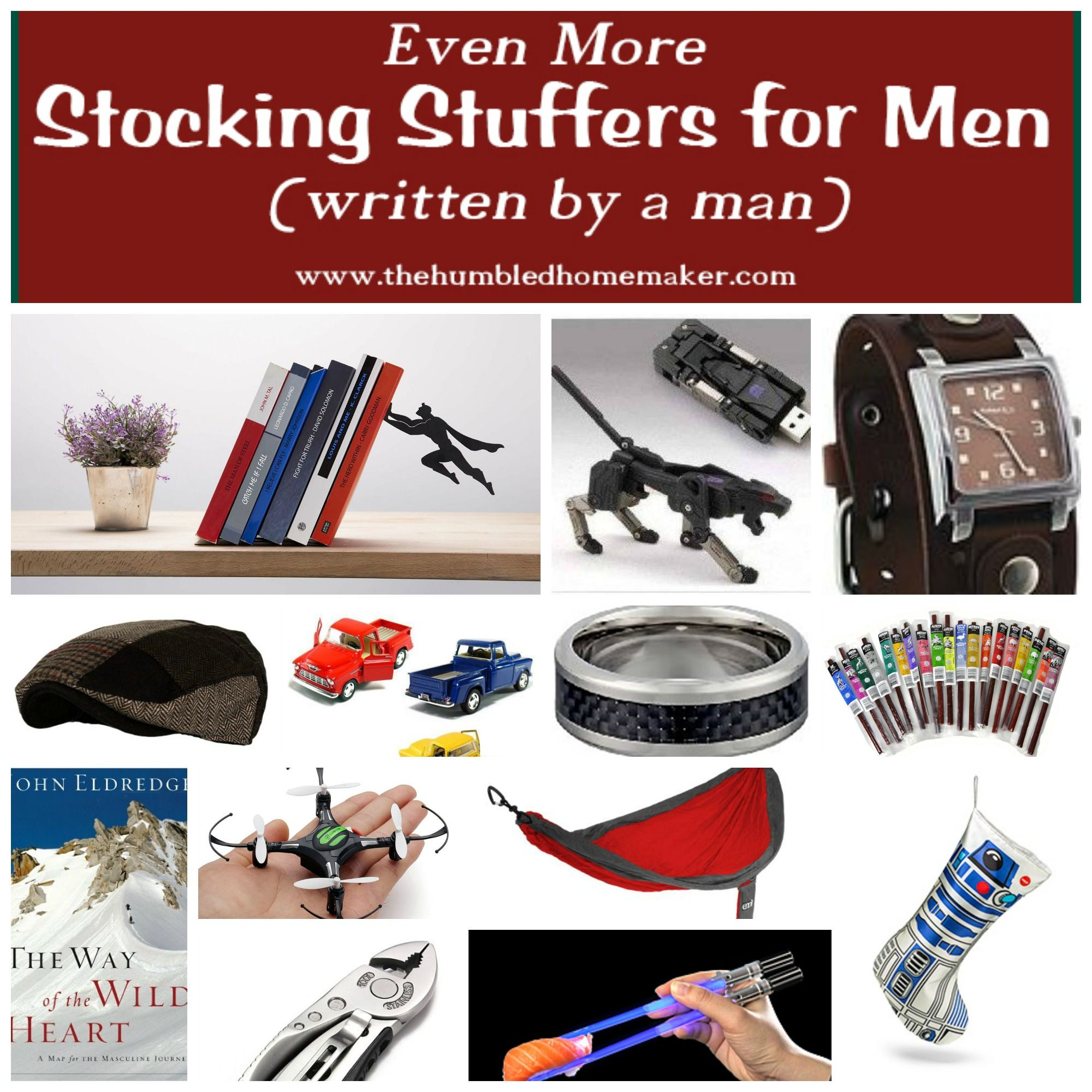 even more stocking stuffers for men (writtena man | stocking