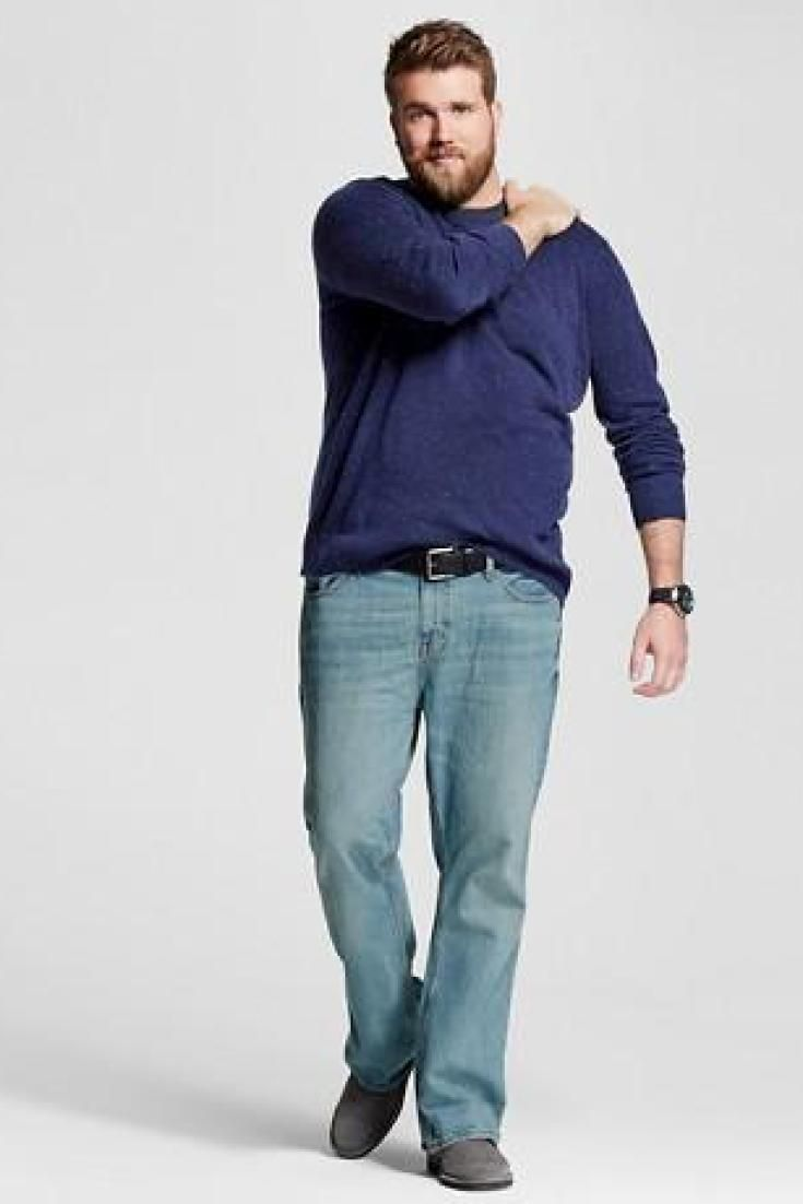 Big Fashion Style Western Spring Summer Outfits 2018 For: Plus-Size Male Models: Why Are These Men Missing From The