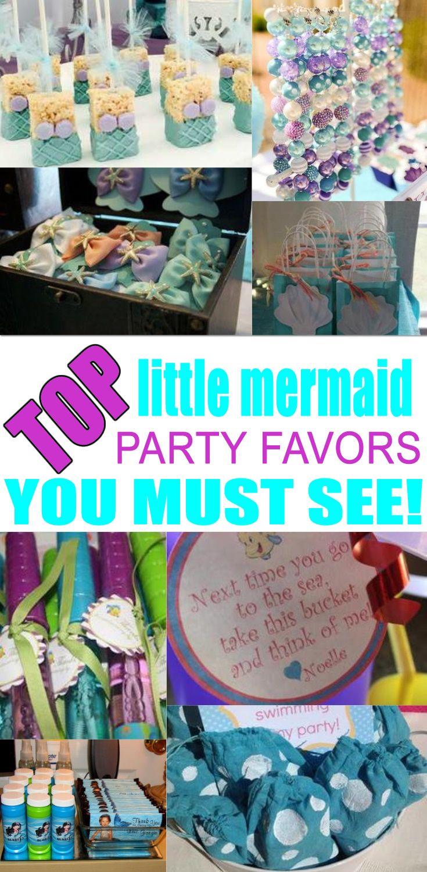 little mermaid party favor ideas best kids birthday party favor ideas mermaid party favors. Black Bedroom Furniture Sets. Home Design Ideas