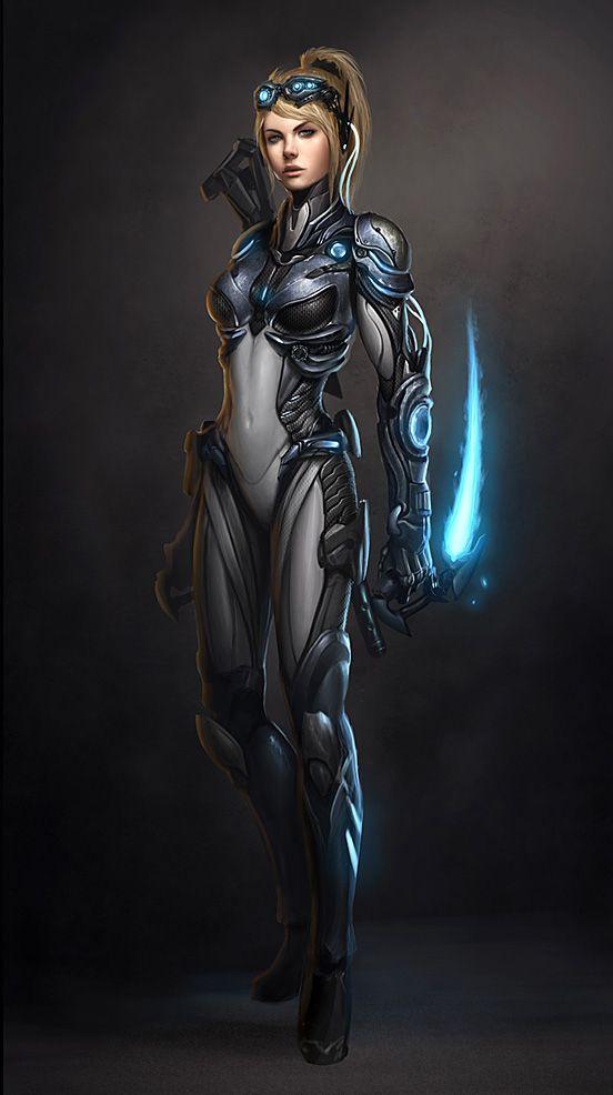 Starcraft Ghost Nova Final | Illustration Art | The Design Inspiration