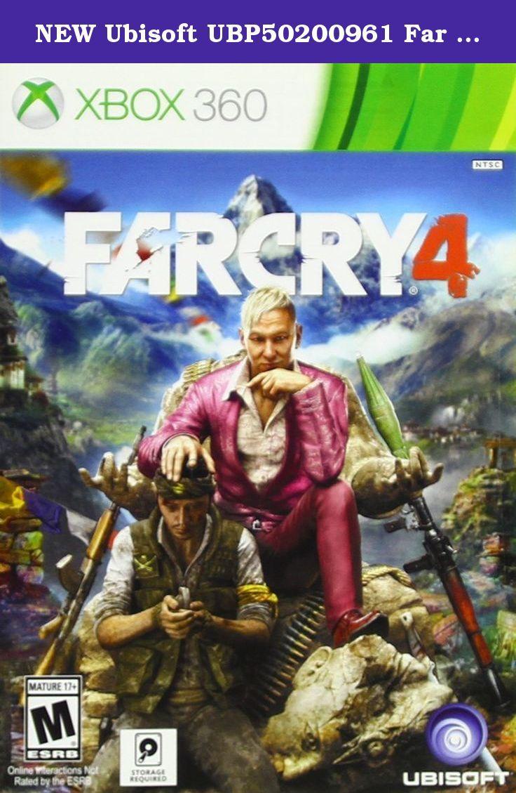 NEW Ubisoft UBP50200961 Far Cry 4 X360. REVOLUTIONARY OPEN