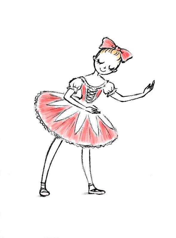 バレエイラスト Ballet Art バレエ バレエ絵画 Och コッペリア