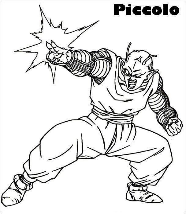 Dragon Ball Z Ausmalbilder Malvorlagen Zeichnung Druckbare Nº 11