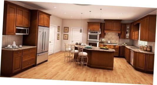Light Brown Wood Kitchen Cabinets Nyc Beautiful Kitchen ...