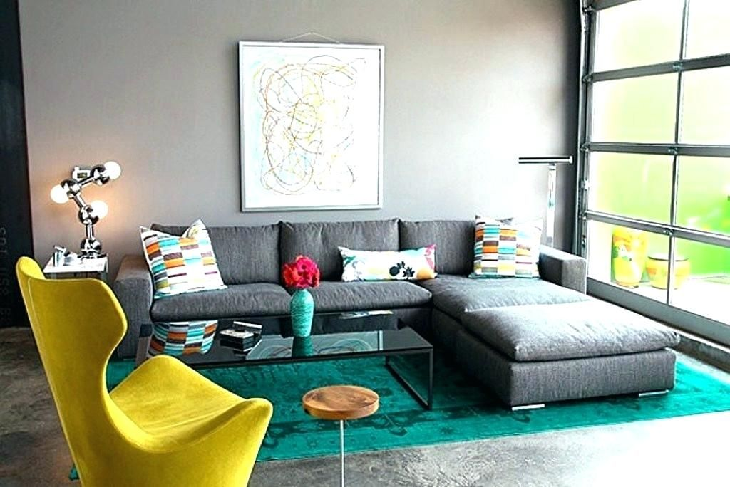 Interesting Design Teal Yellow And Grey Living Room Grey And Teal