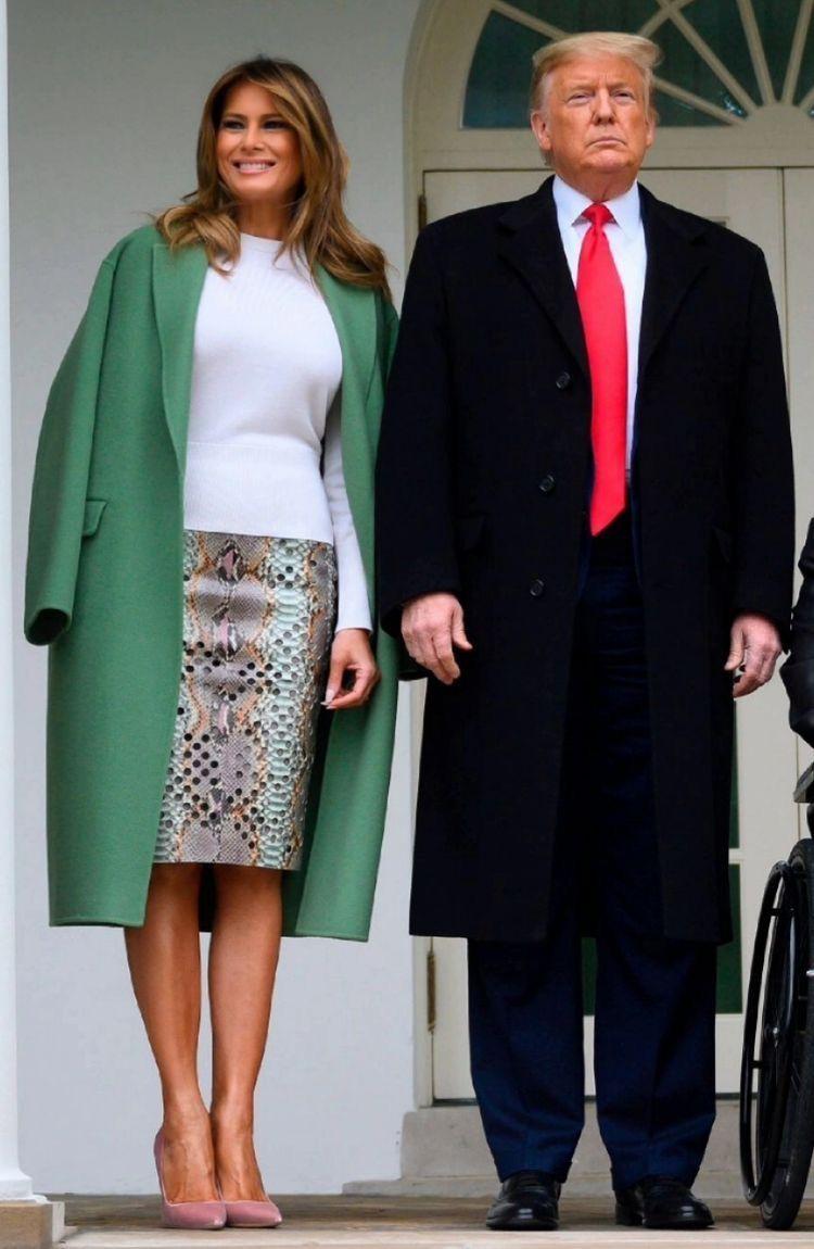 Pin By Rene Whitten On Melania K Trump Trump Fashion Ivanka Trump Style Milania Trump Style