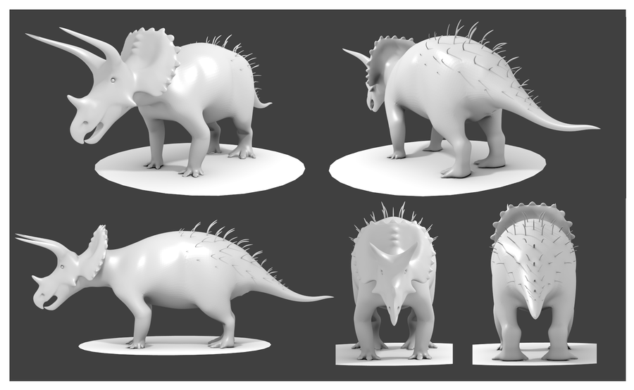 dinosaur reference images for 3d modeling Google Search